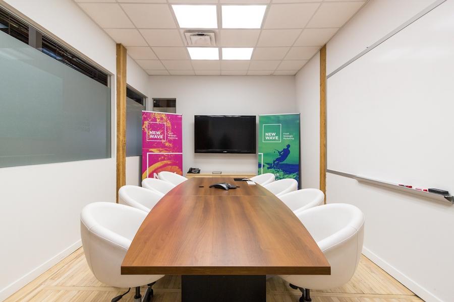New Wave Marketing Agency Calgary Board Room
