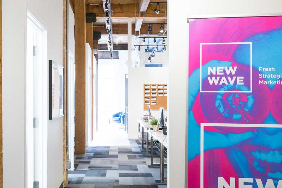 Marketing Agency Calgary New Wave Office space